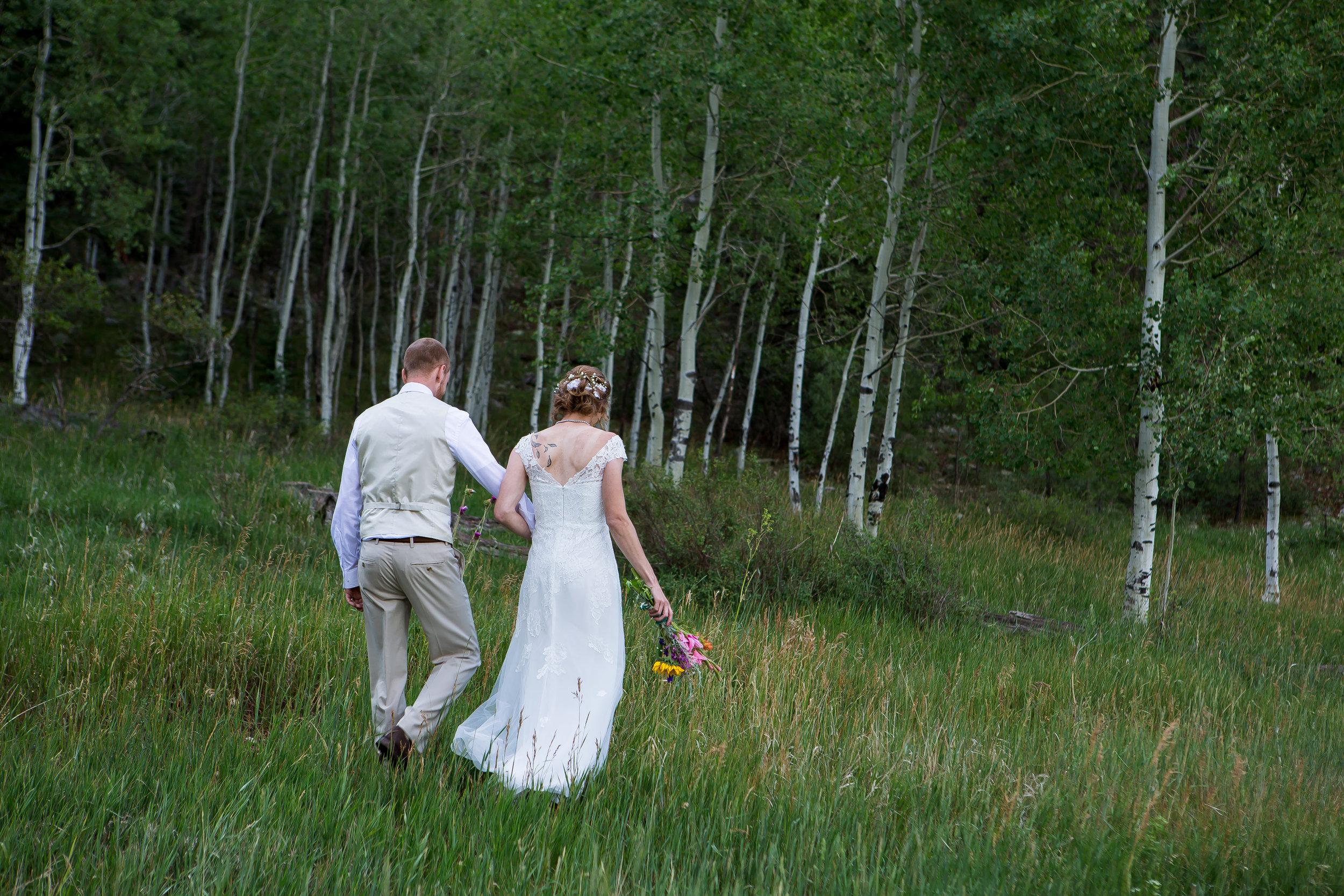 Vallecito Lake Wedding Elopement Colorado  Bayfield, Colorado  Durango, Colorado wedding photographers  Alexi Hubbell Photography