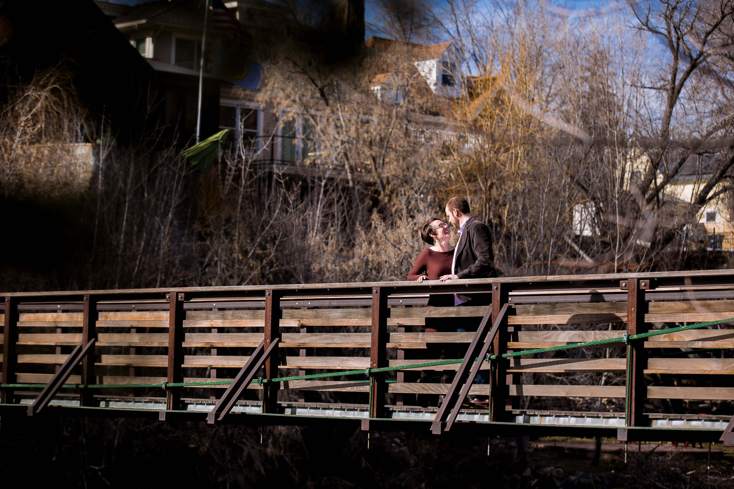 Animas River Trail Engagement Photos