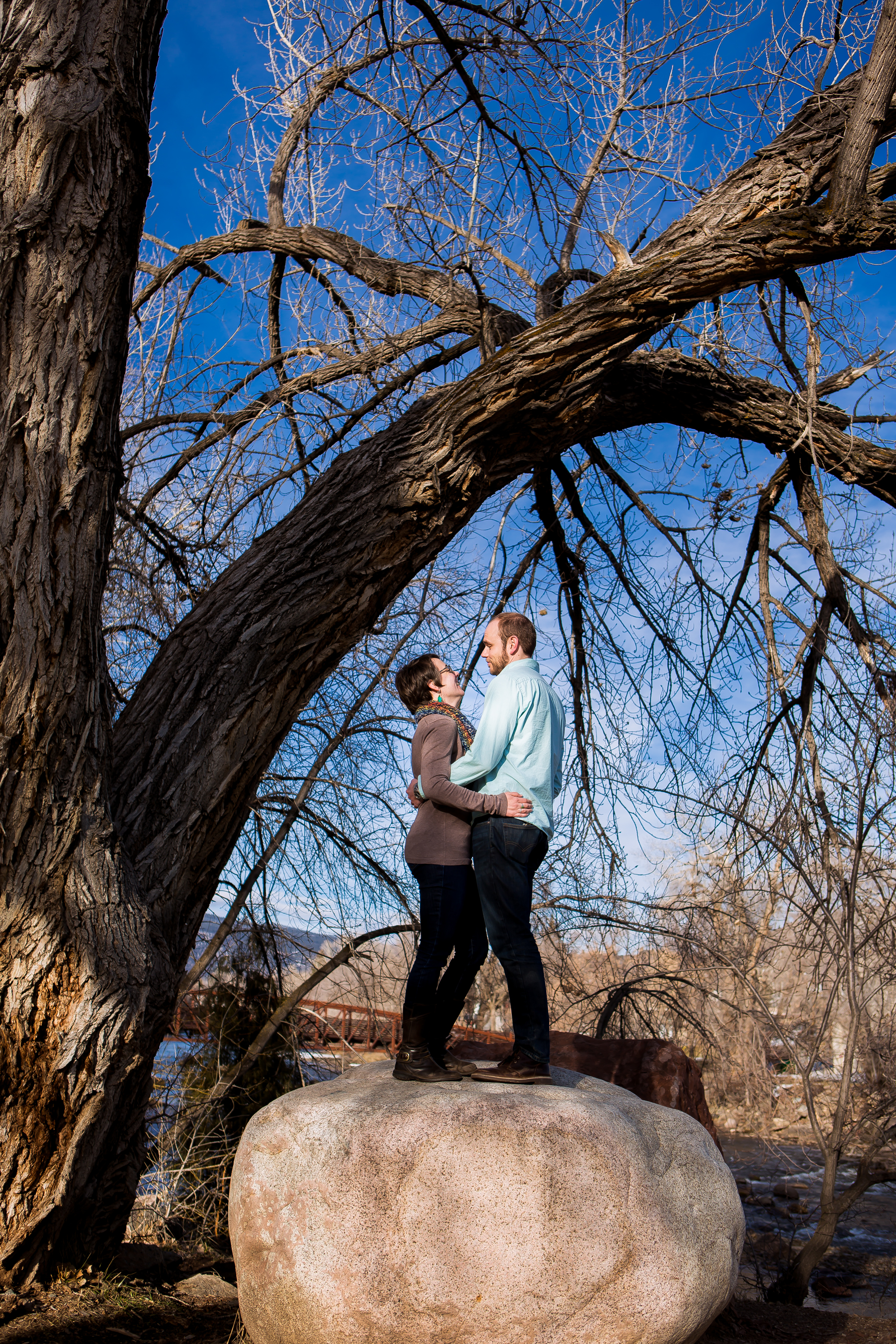 Durango Colorado Wedding, Engagement Photographer   Animas River Trail