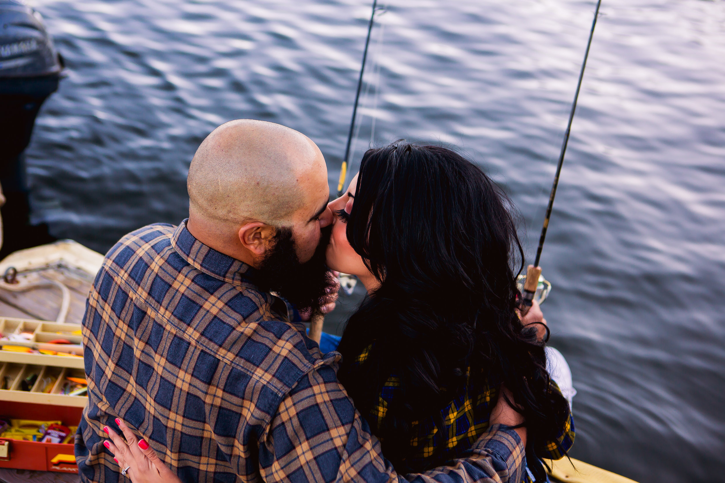 Vallecito Fishing Engagement Session: Brittany + Jason