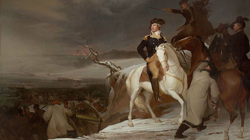 The Passage of Delaware, by Thomas Sully, 1819.