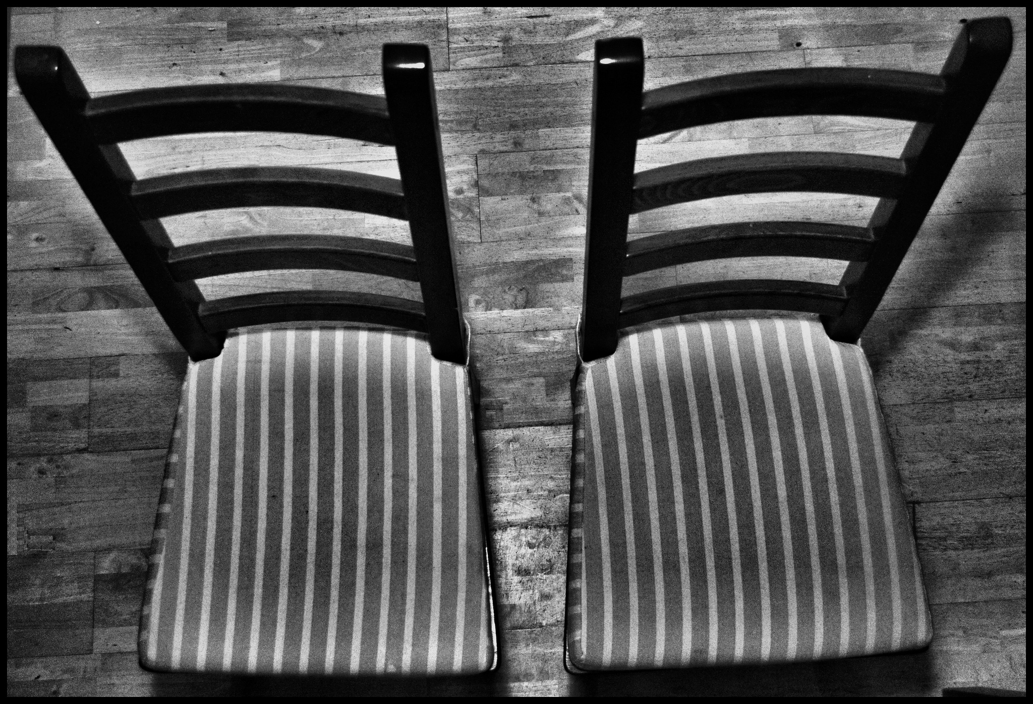 """2 Striped Chairs"" by Craig Sunter. Via  Flickr  and courtesy a  Creative Commons License ."