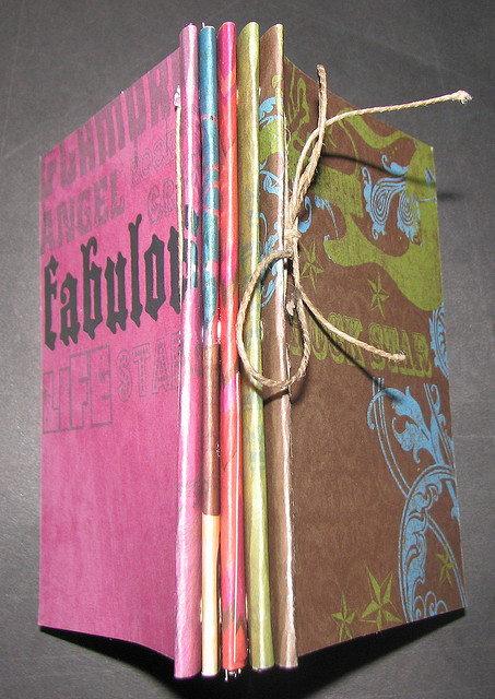 """Handbound Journal,"" by Courtney Rhodes. Via  Flickr  and courtesy a  Creative Commons  license."