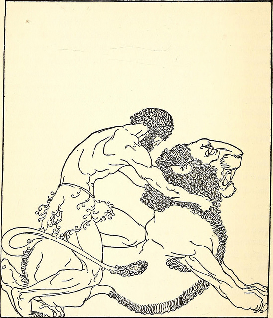 "Image from page 310 of ""The golden fleece and the heroes who lived before Achilles"" (1921). Used via  The Commons  on Flickr."