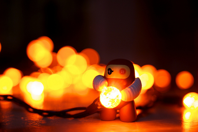 """Bokeh Ninja,"" by Nick Harris, via  Flickr  and courtesy a  Creative Commons  license."