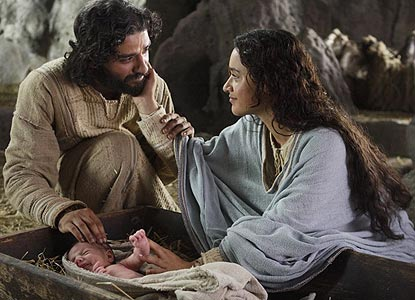 Photo from  The Nativity Story  with Oscar Isaac &Keisha Castle-Hughes