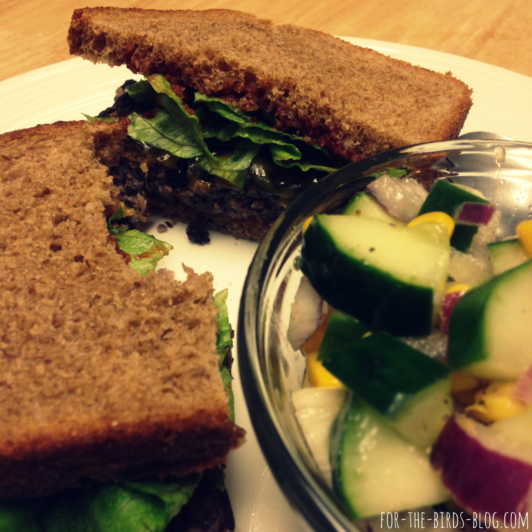 Let the record show that these patties are delicious even on loaf bread. ;)