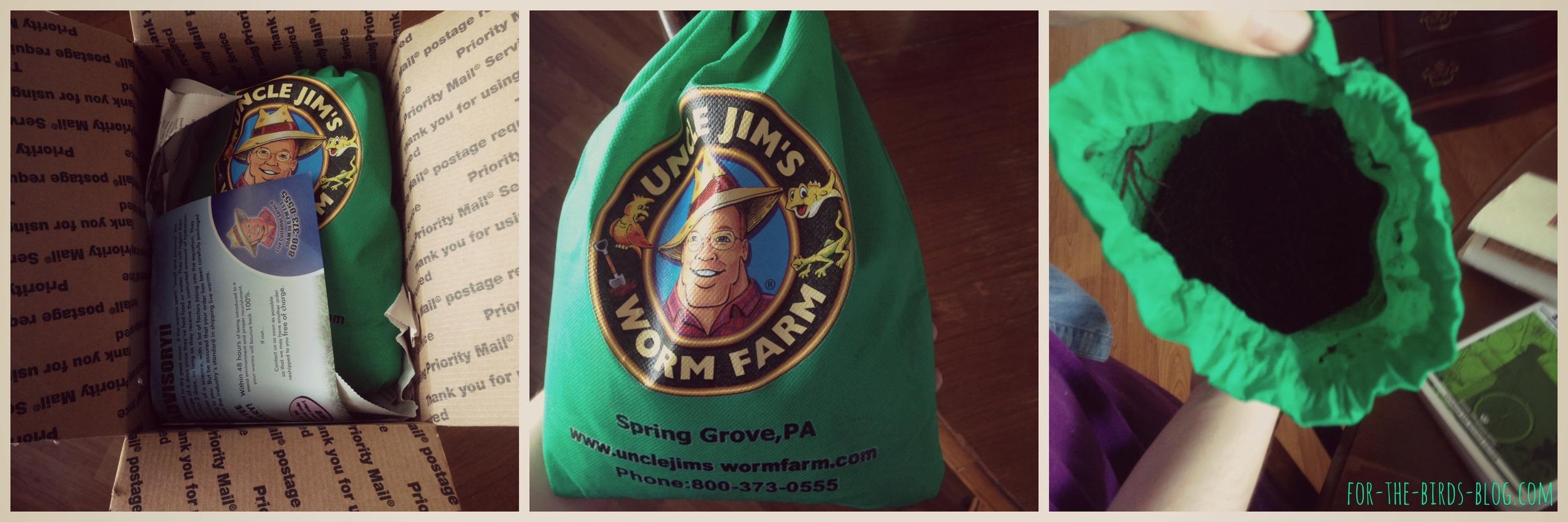 Uncle Jim's Worm Farm Delivery