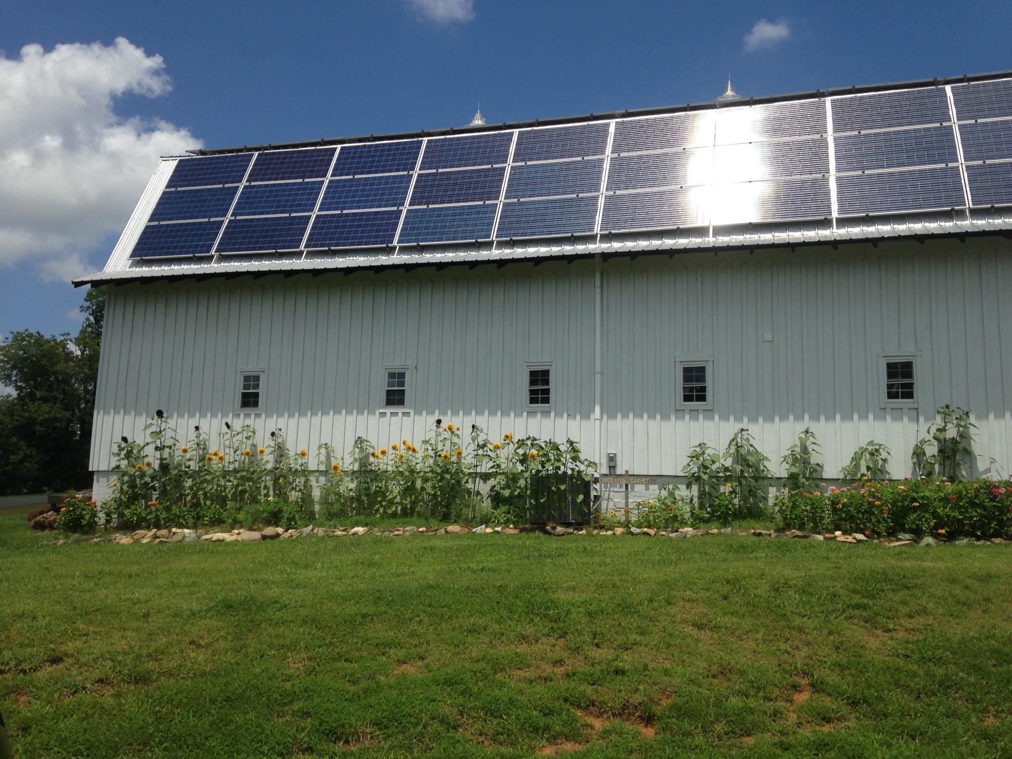 Peacehaven's Solar-Powered Barn