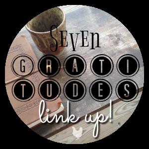 Seven Gratitudes Link Up