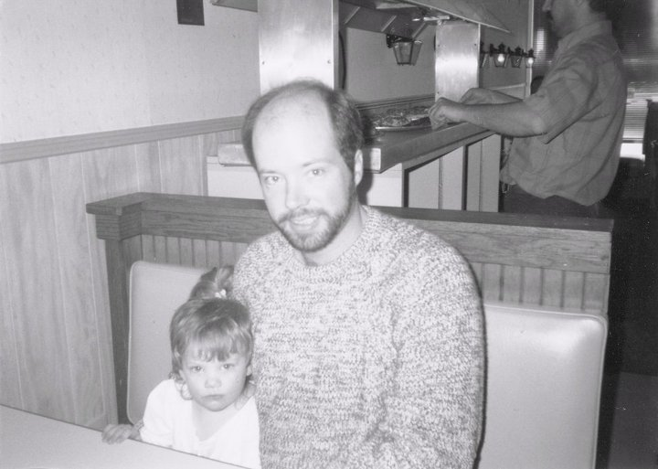 Leanna and Daddy