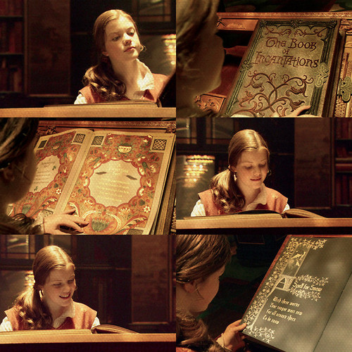 Lucy and the Book of Incantations