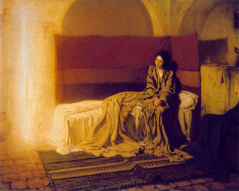 The Annunciation by H.O. Tanner, American (Paris), The Philadelphia Museum of Art