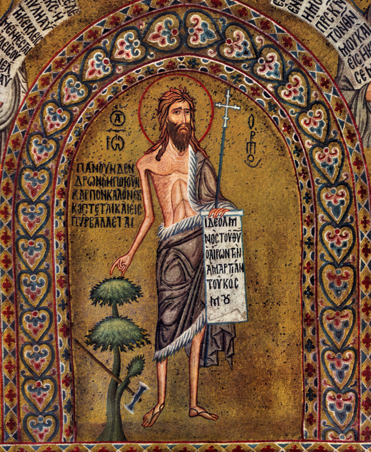 (John the Baptist Announcing the Messiah, from   Art in the Christian Tradition  , a project of the Vanderbilt Divinity Library.)