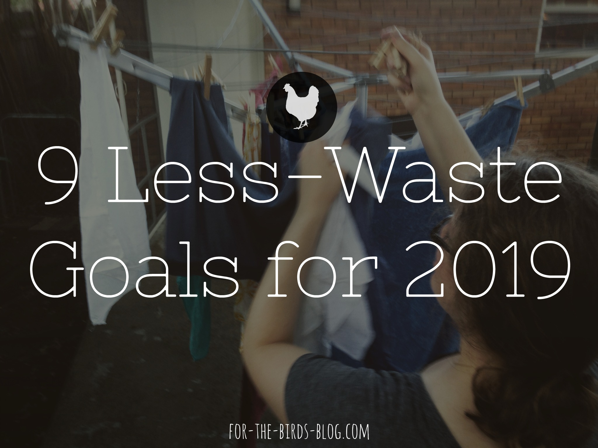 9 Less-Waste Goals for 2019 - For the Birds - by Leanna Coyle-Carr