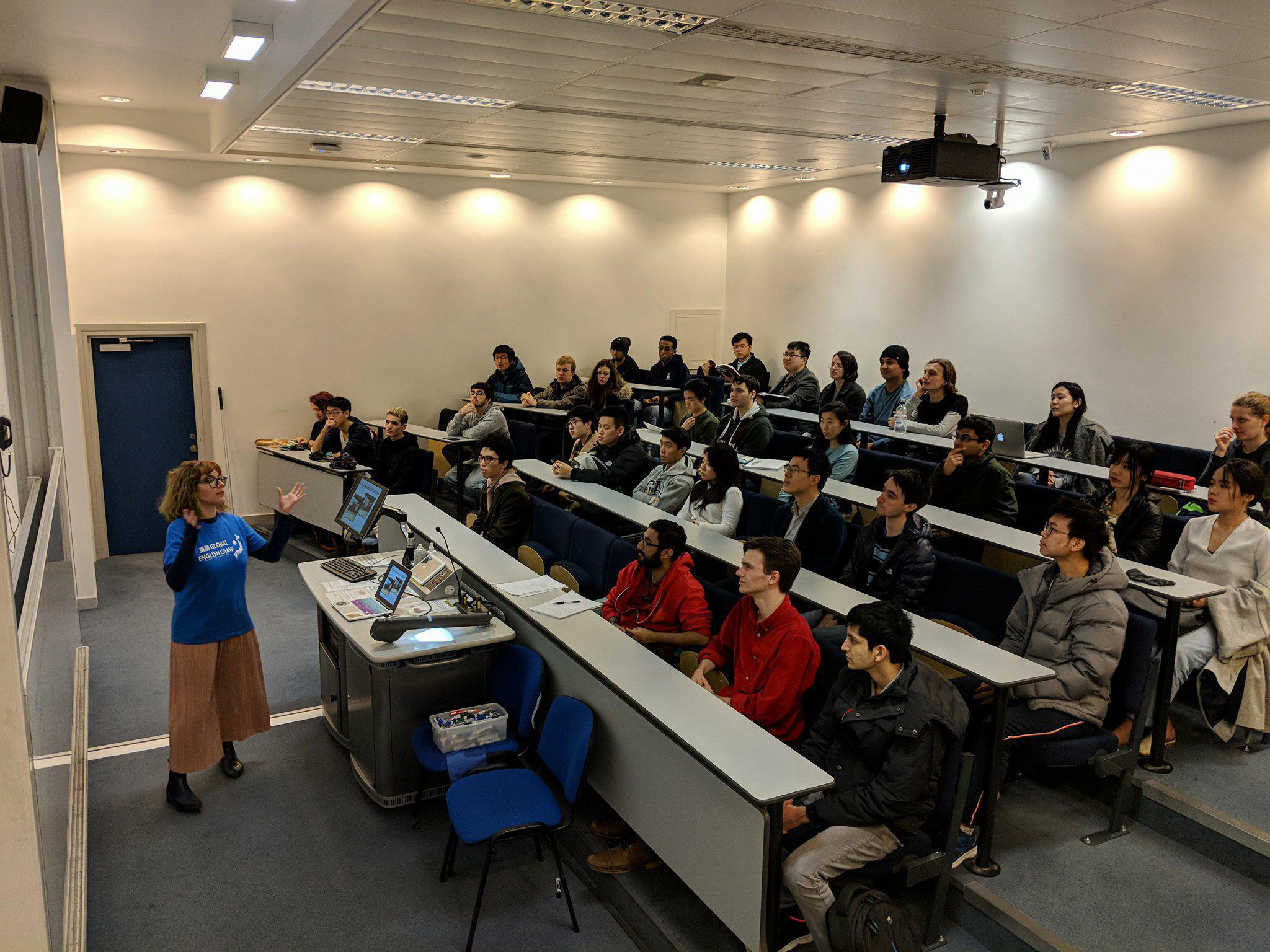 Info session at Imperial College London.
