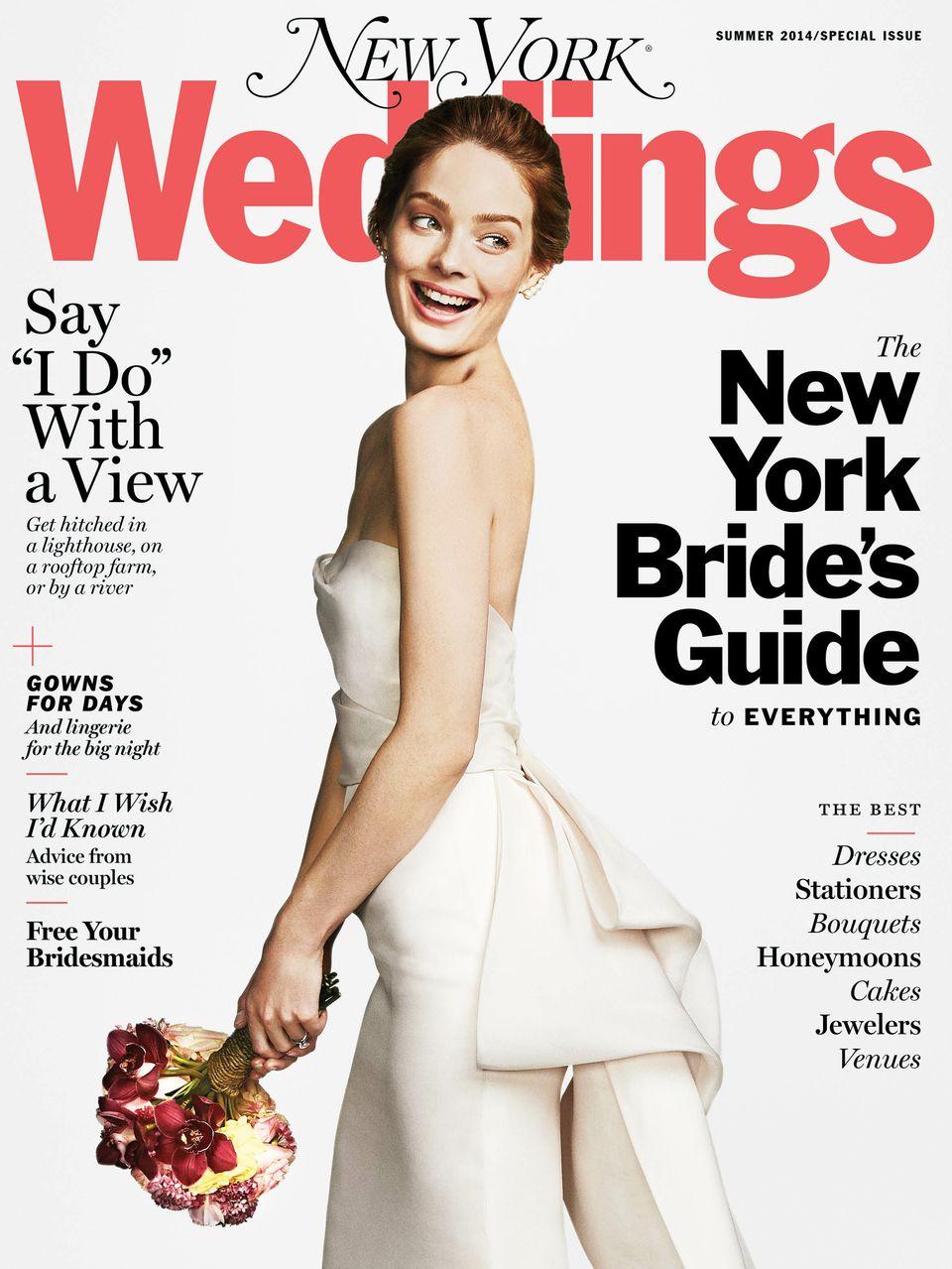 New York Weddings Magazine Summer 2014 Editorial List