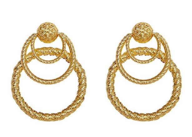 For Love and Lemons Triple Hoop Earrings Product.jpg