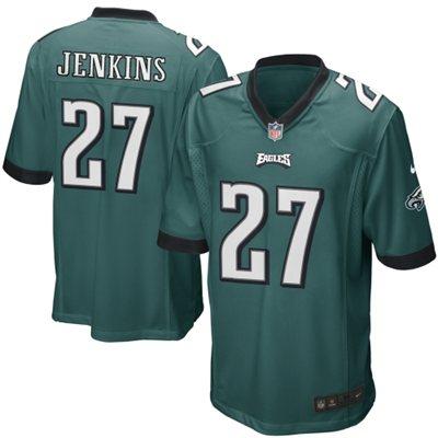 Mens Philadelphia Eagles Malcolm Jenkins Nike Midnight Green Game Jersey     $99.95