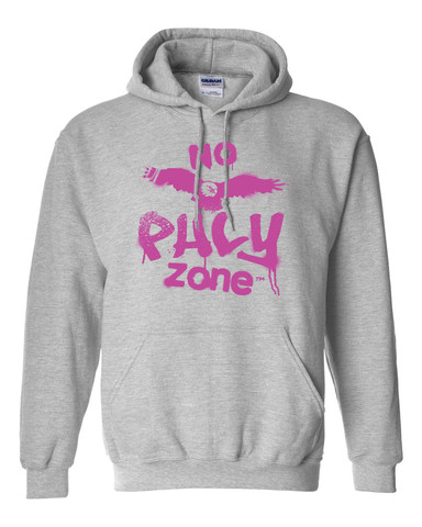 No Phly Zone Hoodie- PINK   The Malcolm Jenkins Foundation   $55.00