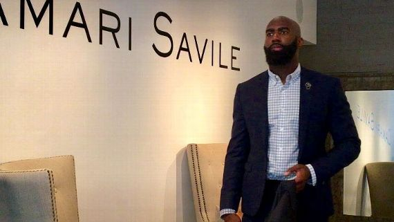 Renaissance man: Eagles safety Malcolm Jenkins turns love of fashion into a business - ess than an hour after the Eagles wrapped up a day of OTAs, safety Malcolm Jenkins is on the road. By 3 p.m., he is halfway across the city in the back of his new, brick-and-mortar designer menswear store, Damari Savile