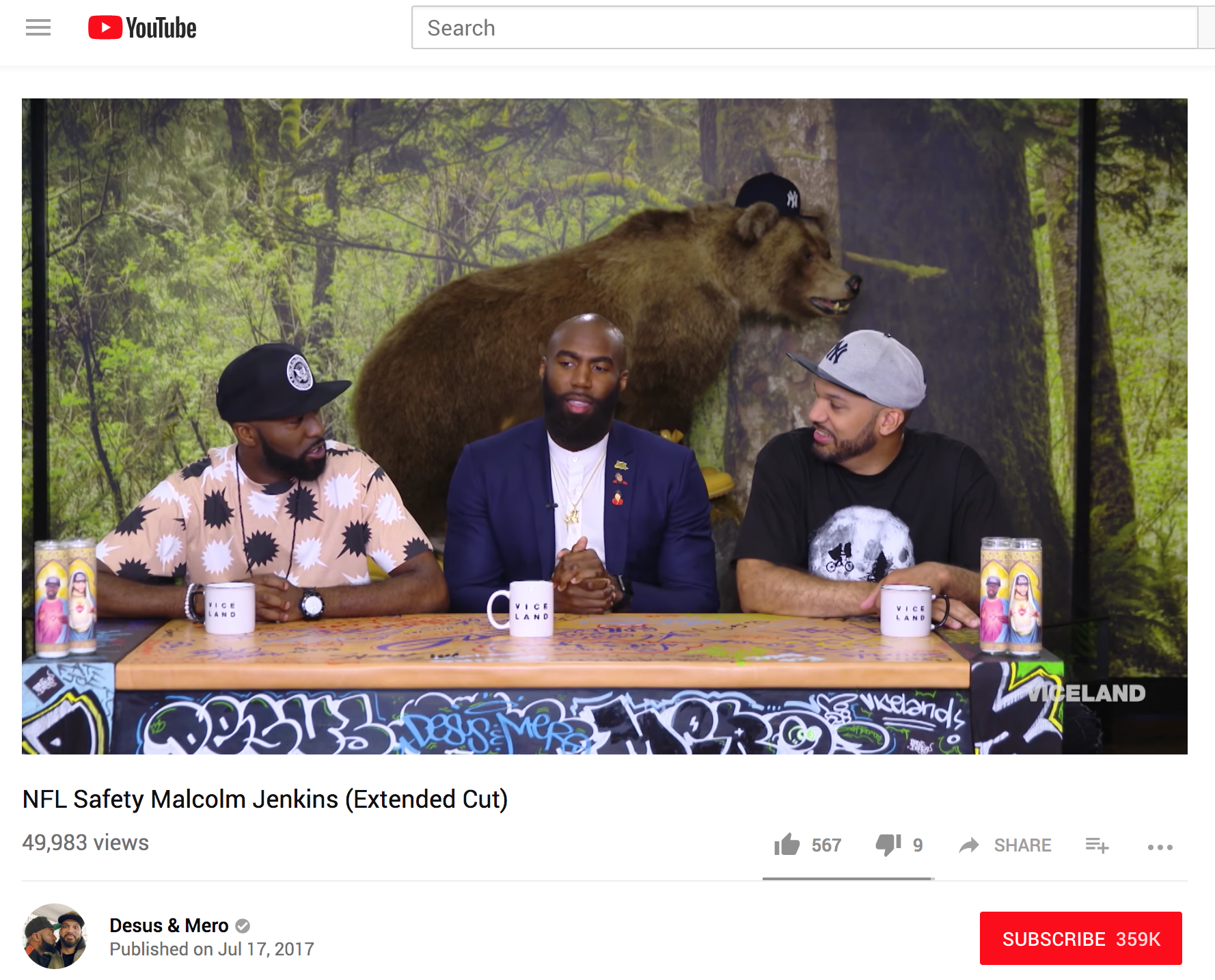 Desus & Mero -  We talk to Malcolm Jenkins about his immediate Super Bowl success, his biggest hit taken, and his passion for criminal justice advocacy.