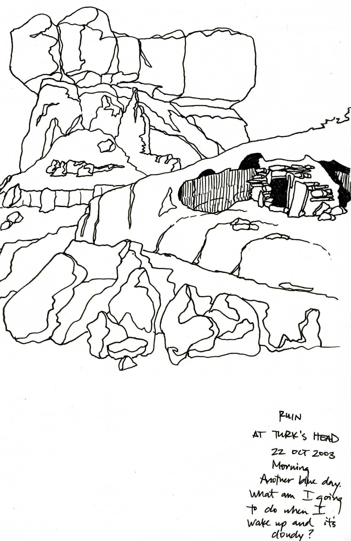 Ruin at Turk's Head, Canyonlands National Park