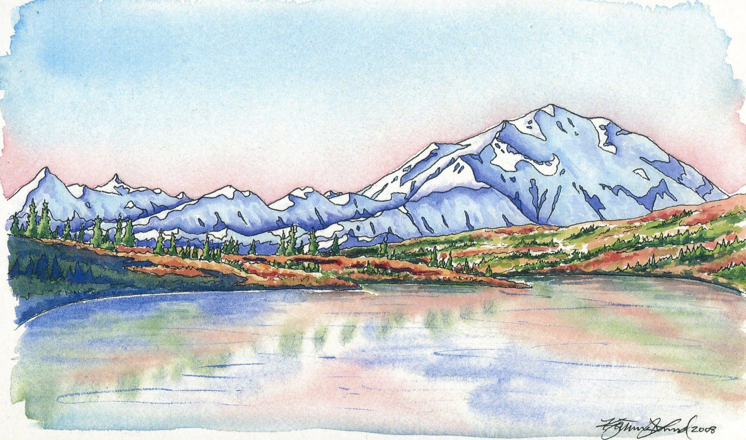 Wonder Lake, Denali National Park, AK