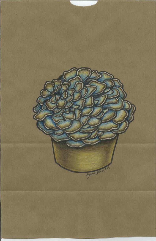 Maitake Mushroom Muffin
