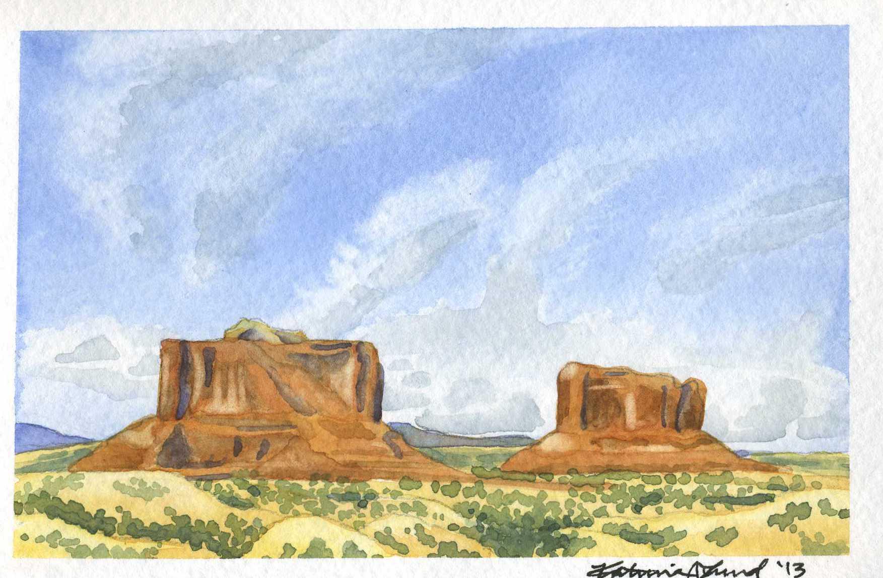 Monitor & Merrimac Buttes, Moab, UT