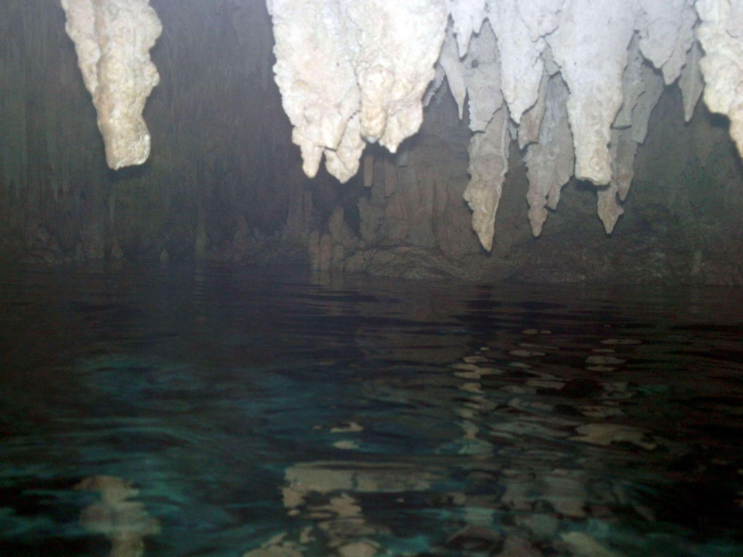snorkeling in Chaak Tun cenote