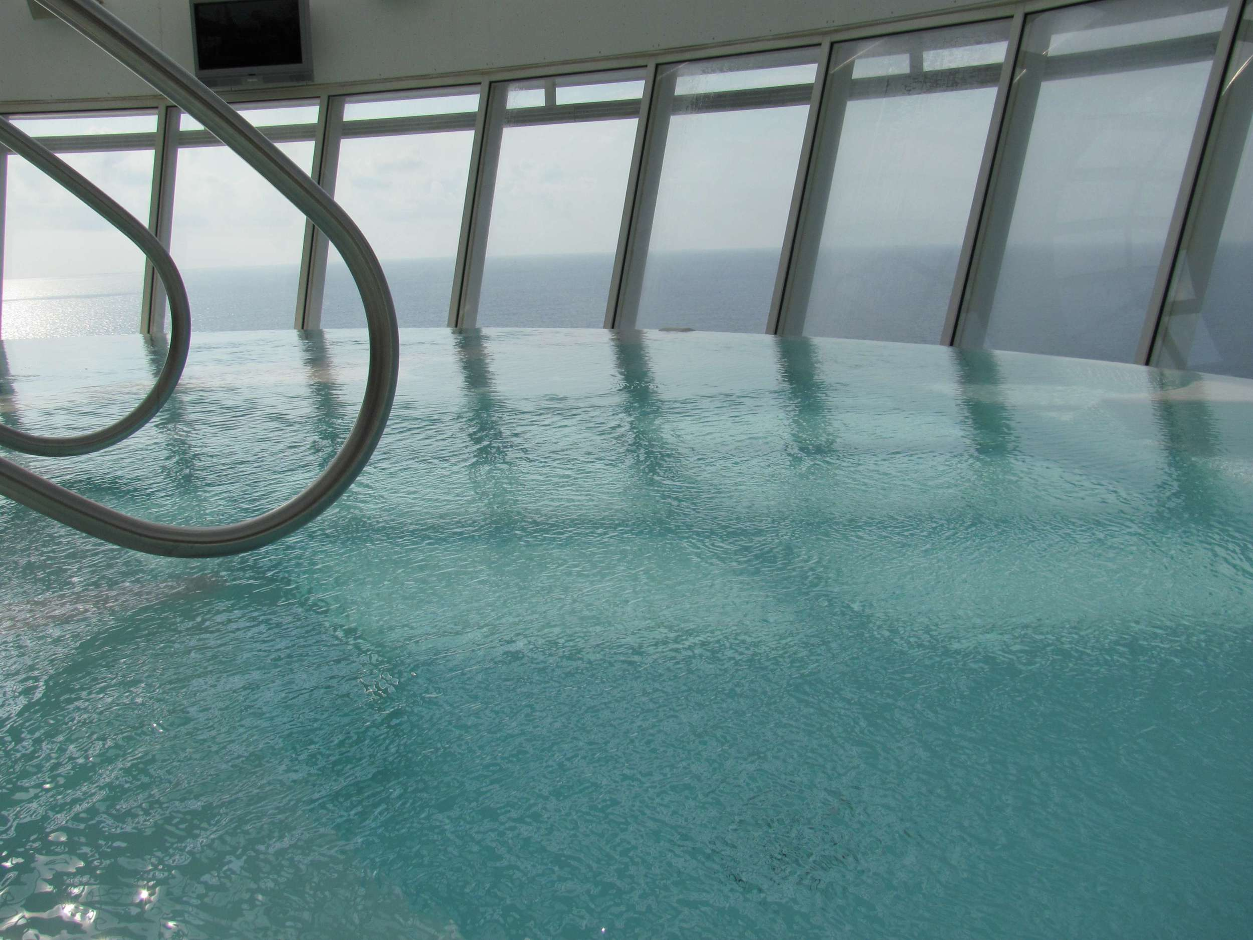 One of the infinity pools