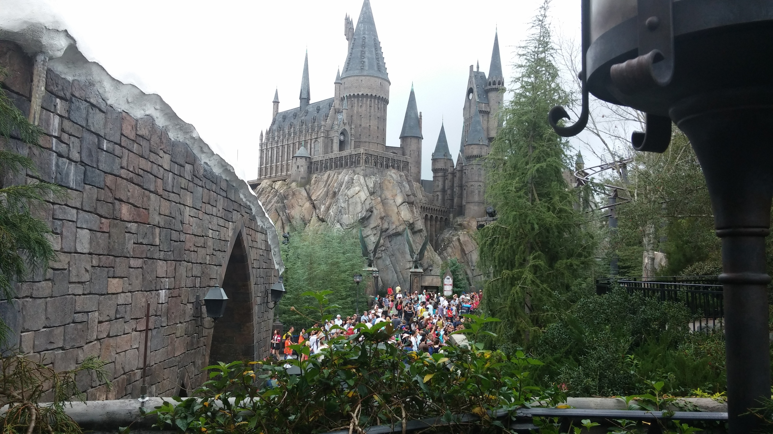 Universal Orlando Wizarding World of Harry Potter - Hogwarts School of Witchcraft and Wizardry