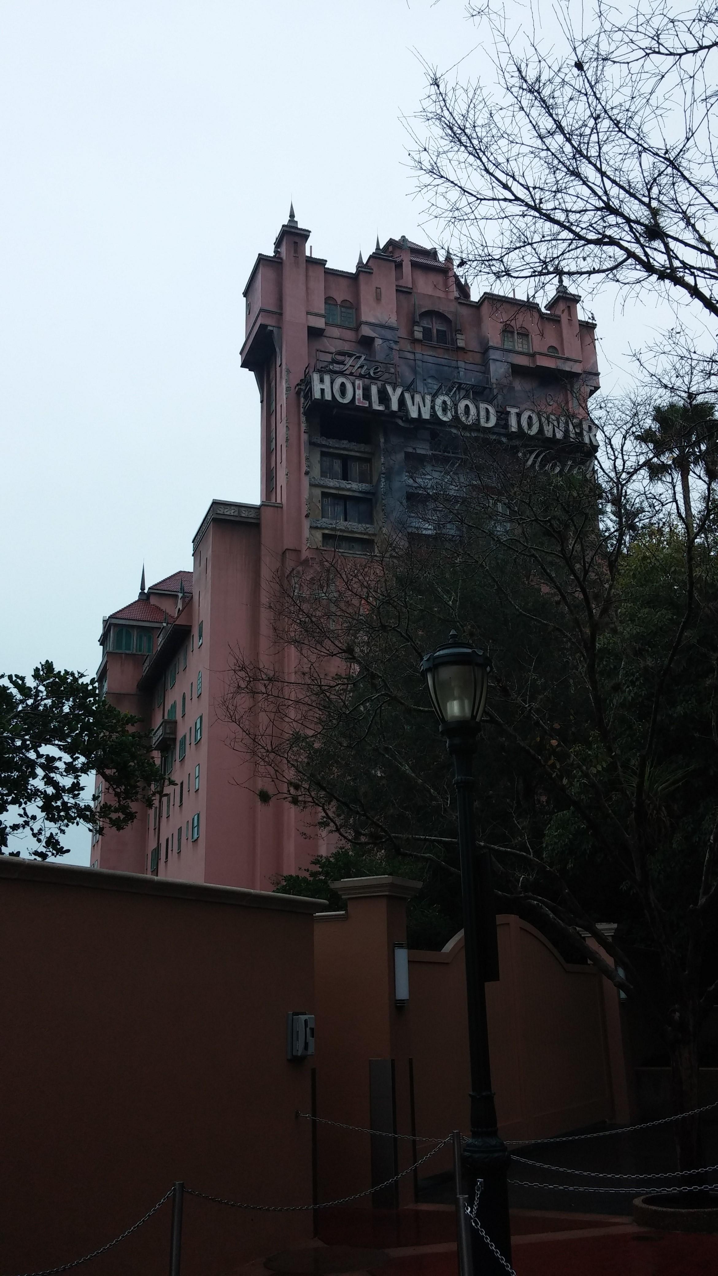 Disney World Hollywood Studios Twilight Zone Tower of Terror