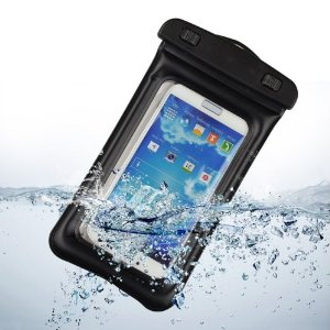 Evecase for smartphone, waterproof to 30 meters, arm band and neck strap