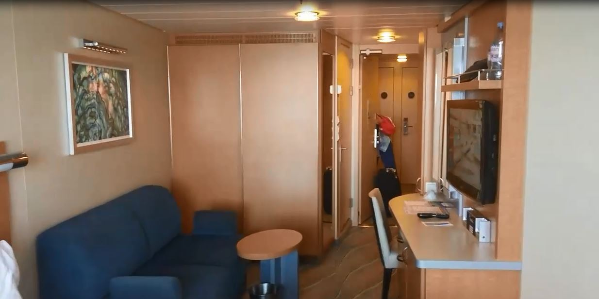 Our stateroom was category D3, Superior Ocean View Stateroom with Balcony
