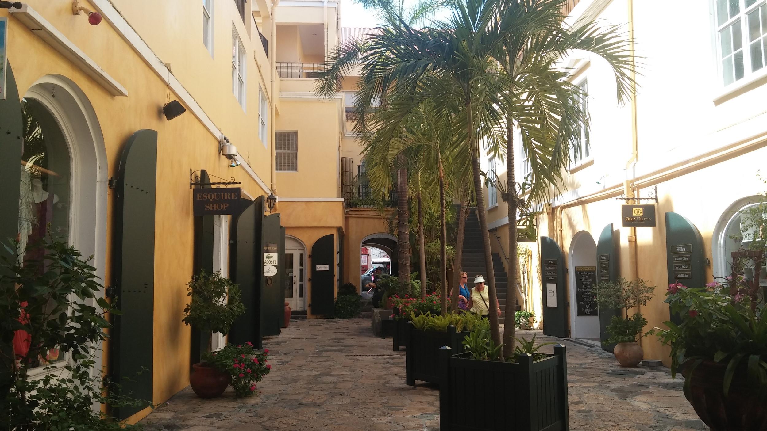 Vendors Plaza alleys on St. Thomas