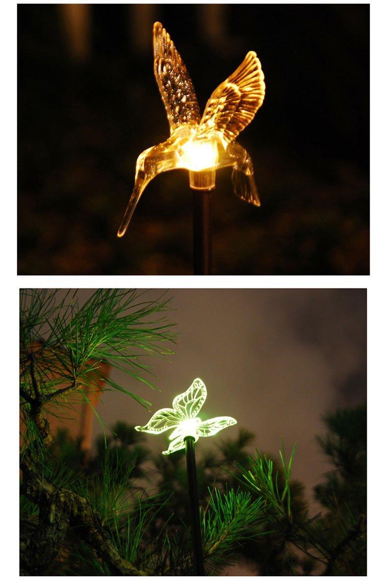 Esky Solar Powered Outdoor Hummingbird, Butterfly & Dragonfly Solar Garden Stake Light 4.jpg