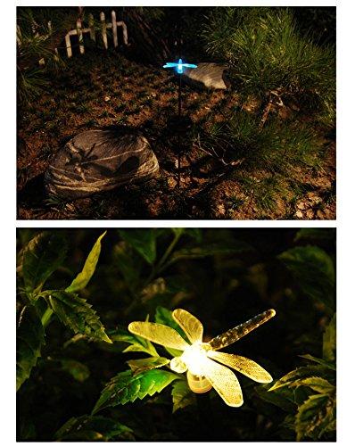 Esky Solar Powered Outdoor Hummingbird, Butterfly & Dragonfly Solar Garden Stake Light 3.jpg