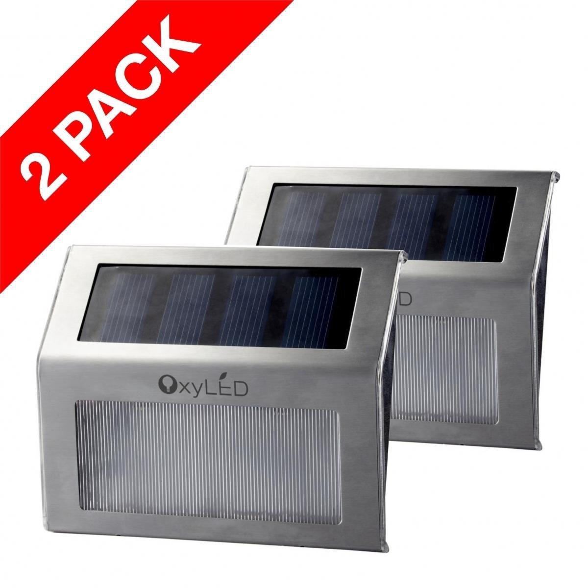 OxyLED 2-Pack Solar LED Solar Step Lights 1.jpg