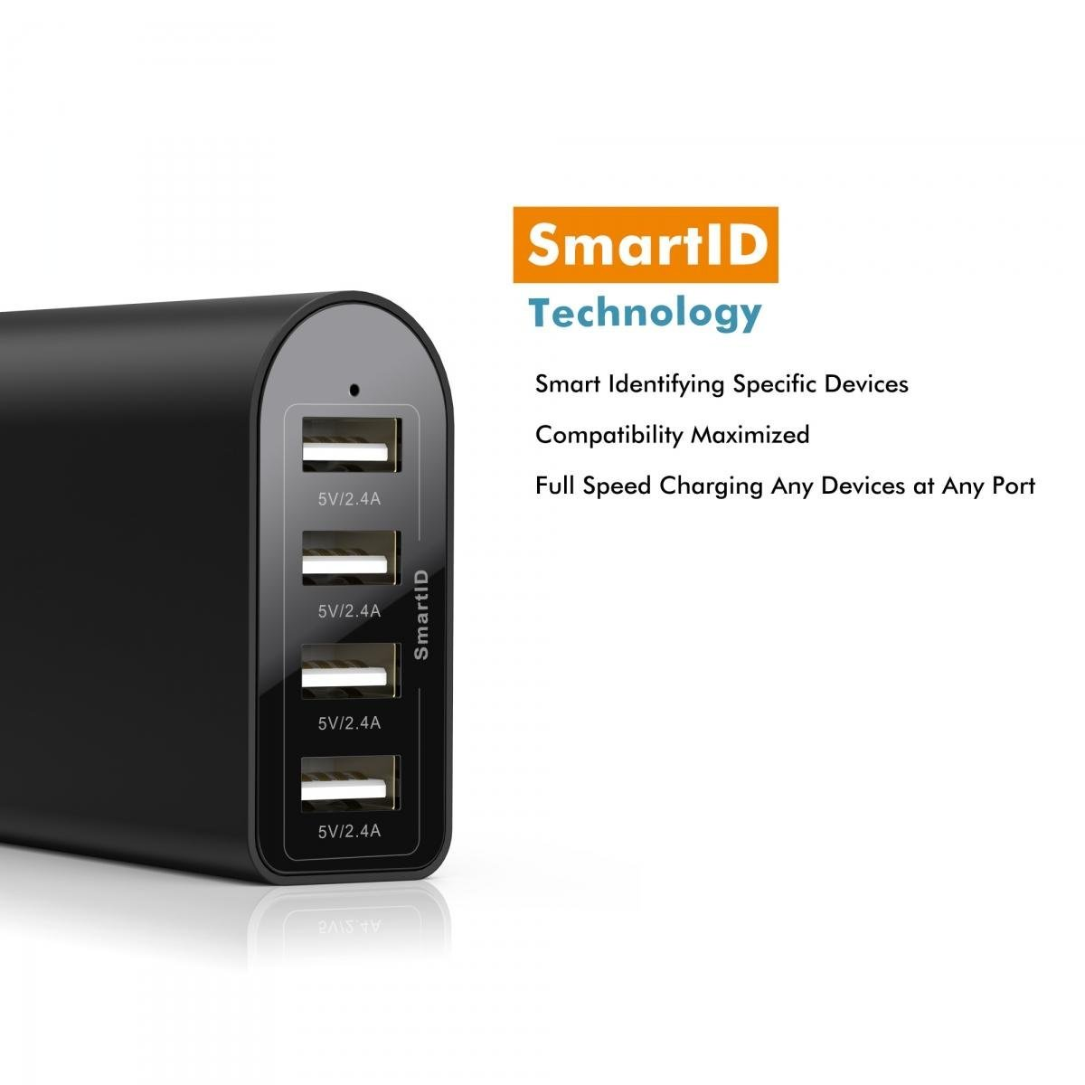 iClever 40W 4-Port USB Travel Charger with SmartID 2.jpg