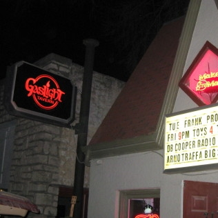 Gaslight Tavern   317 N. 2nd St. Lawrence Kansas
