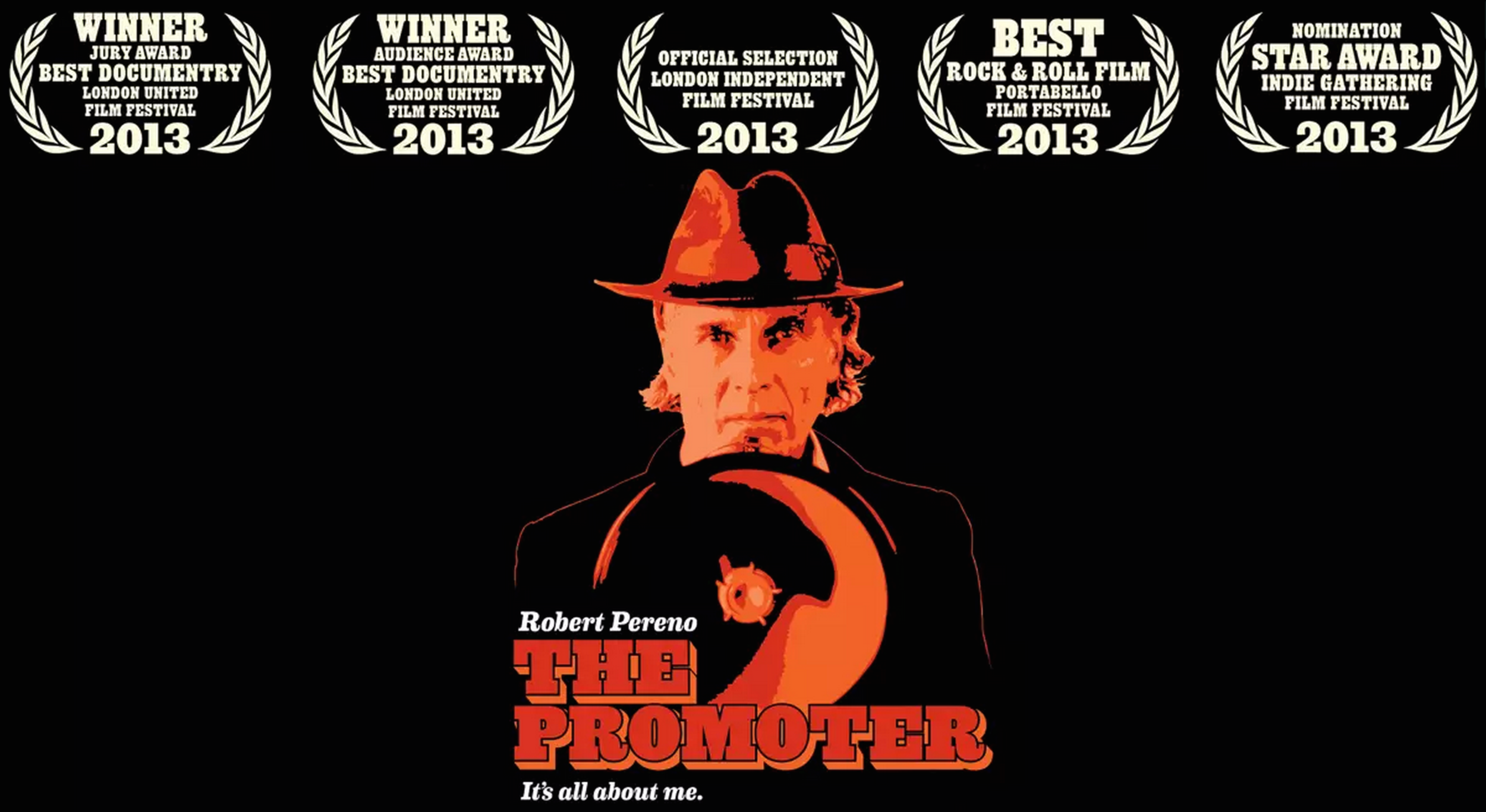 CLICK TO DOWNLOAD'THE PROMOTER'.THE DOCUMENTARY ABOUT ROBERT