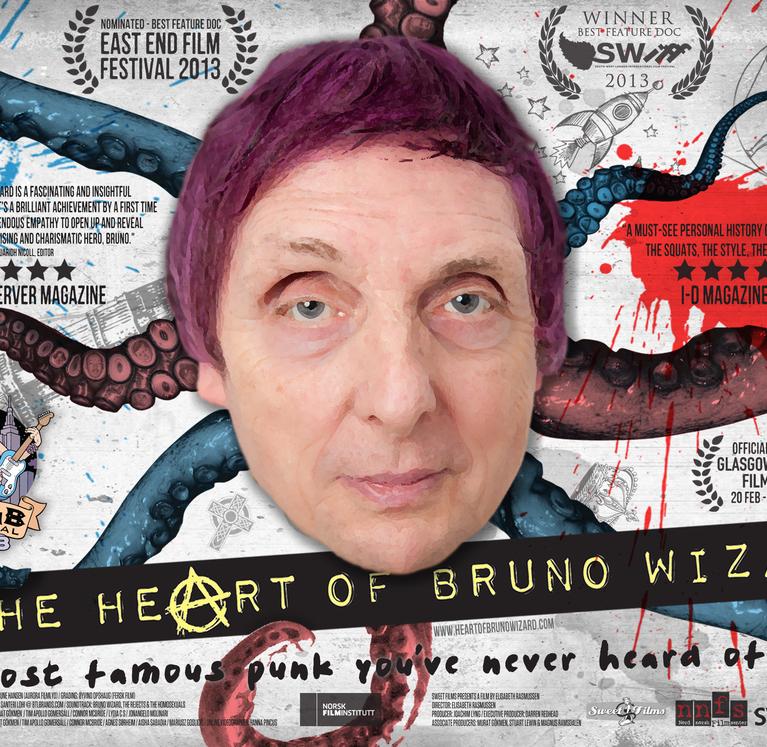 BRUNO WIZARD  #036-HEART OF BRUNO WIZARD