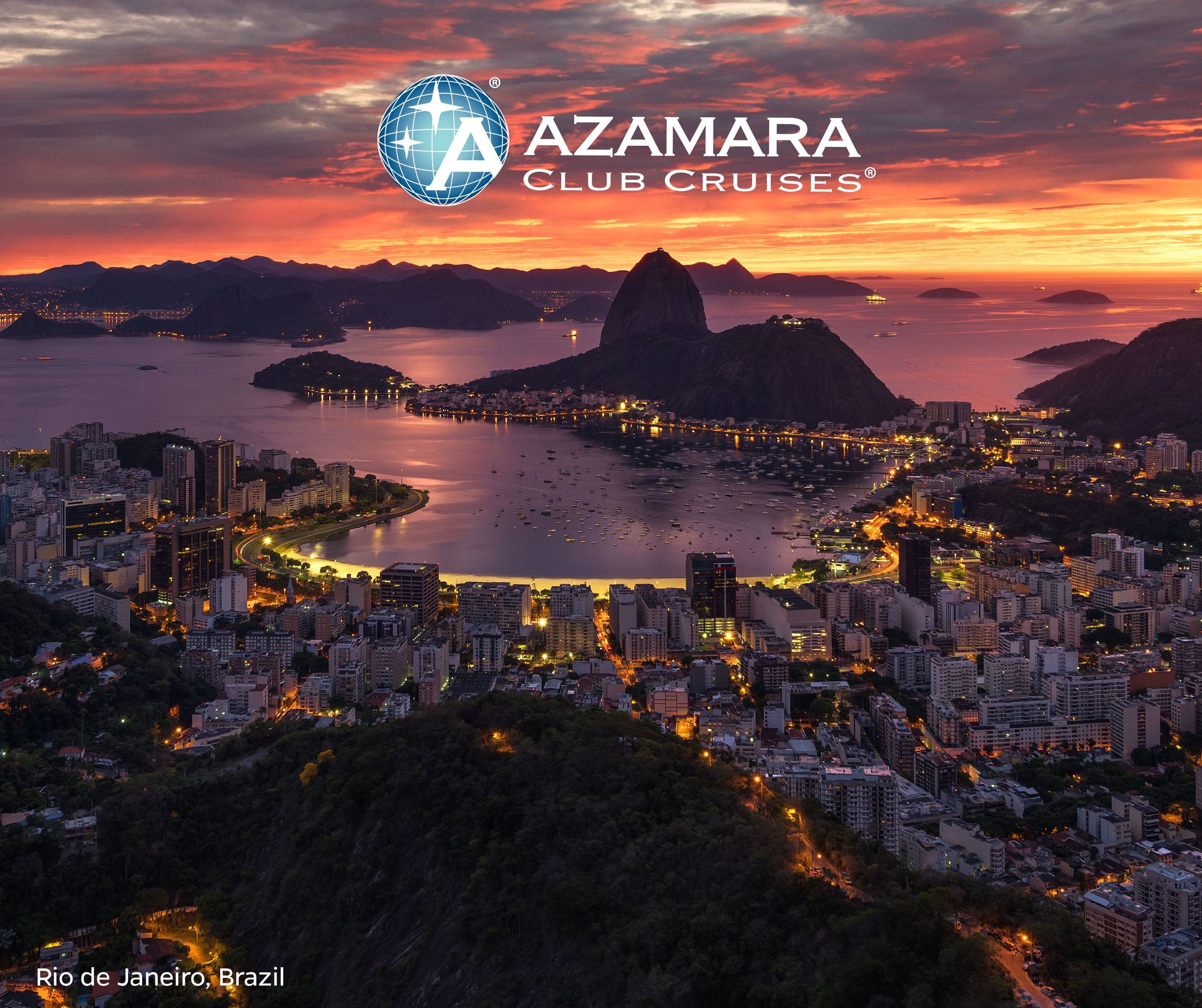 Ready to live it up in Rio de Janeiro? Aboard Azamara Pursuit you can stay overnight in The Marvelous City—and on New Year's Eve!