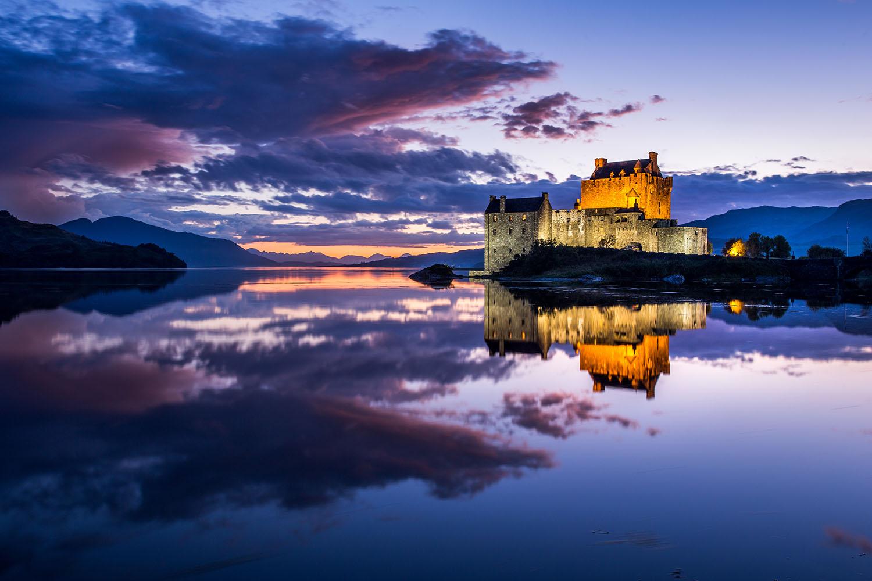 Eilean Donan Castle, Dornie, Highlands of Scotland