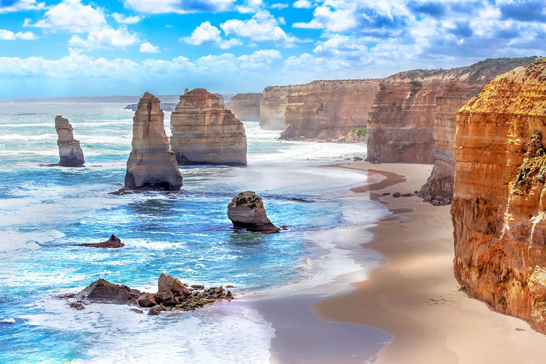 Twelve Apostles along the Great Ocean Road, Victoria, Australia