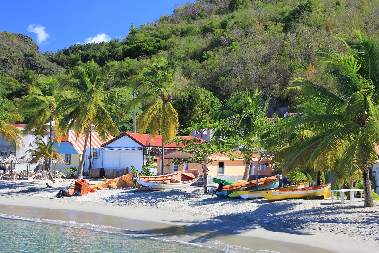 Plage de pêcheurs - Martinique