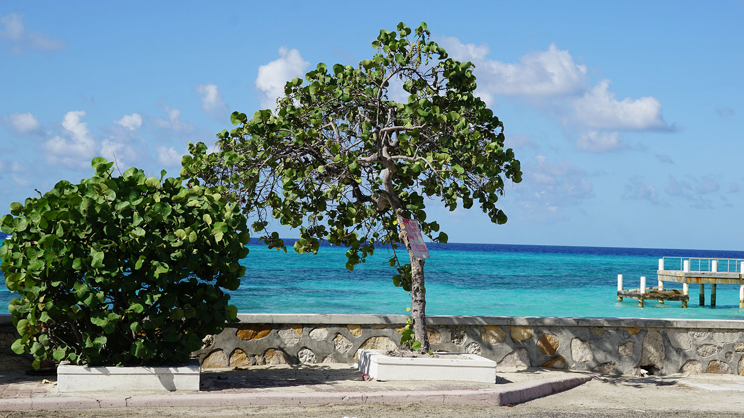 Governor's Beach in Grand Turk Island in the Turks and Caicos Islands