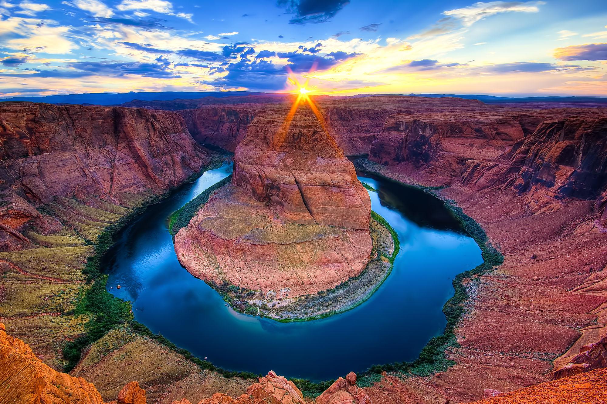 Horseshoe Bend, The Grand Canyon, Arizona
